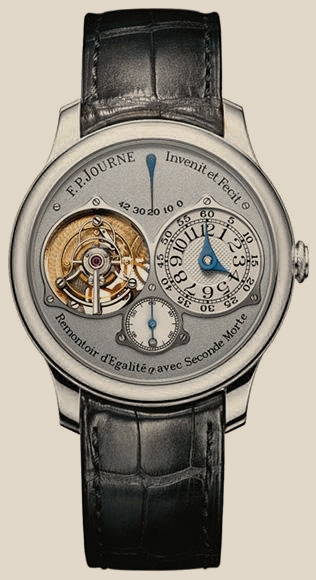 FP Journe - Tourbillon Souverain RG-Silver-Croco