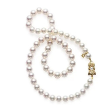Mikimoto  AKOYA CULTURED PEAR STRAND NECKLACE