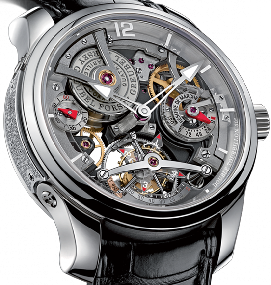 Greubel Forsey - Double Tourbillon Technique PT Silver