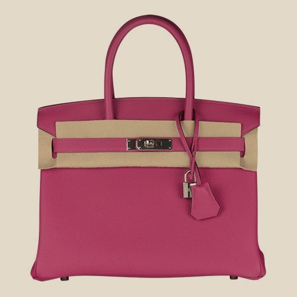 Hermes - ROSE POURPRE