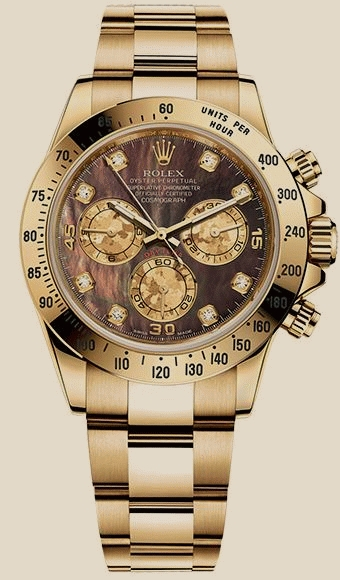 Rolex - 116528 GoldCrystals Diamonds