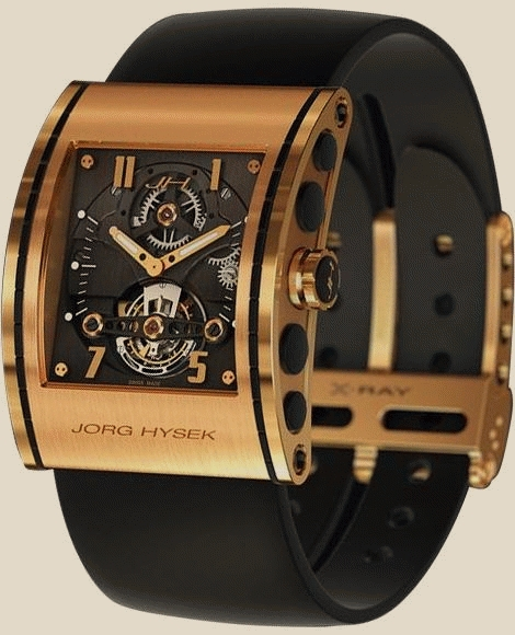 Jorg Hysek  - X-Ray Rose Gold