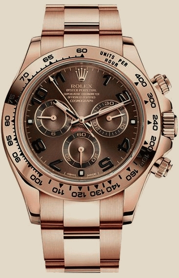 Rolex - 116505 chocolate dial