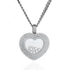 Chopard MAXI LARGE HEART DIAMOND PENDANT