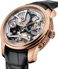 Greubel Forsey / Double Tourbillon 30° / Double Tourbillon Technique RG Silver