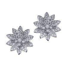 Van Cleef & Arpels. LOTUS EARRINGS