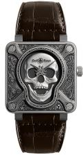 Bell & Ross / AVIATION / BR0192-SKULL-BURN