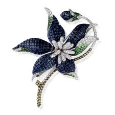 RalfDiamonds FLOWER. BROOCH