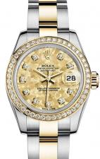 Rolex / Datejust / 179383 Gold Cristals Yellow
