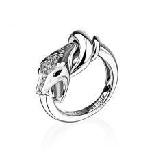 Boucheron TROUBLE DIAMOND SNAKE RING