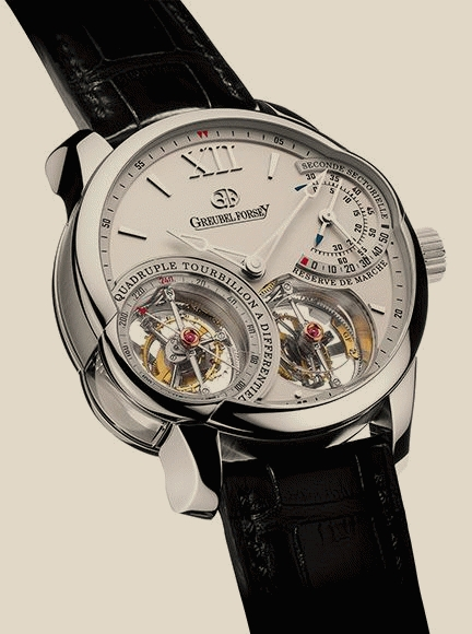 Greubel Forsey - Quadruple Tourbillon Pt