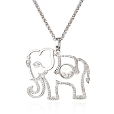Chopard HAPPY DIAMOND. ELEPHANT PENDANT WHITE GOLD