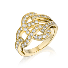 Cartier  AGRAFE RING