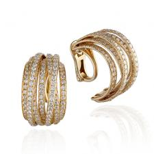 De Grisogono ALLEGRA FULL DIAMOND EARRINGS