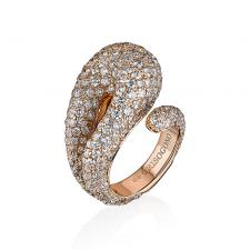 De Grisogono CONTRARIO FULL DIAMOND RING