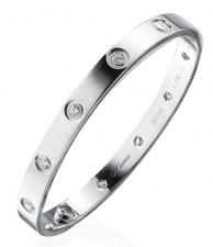 Cartier LOVE BRACELET, 10 DIAMONDS