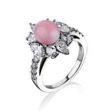 Mikimoto  RING, CONCH PEARL, DIAMONDS