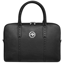 Castello d'oro HANDMADE BUSINESS BAG IN CALFSKIN LEATHER