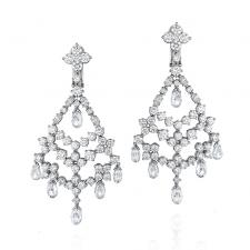Harry Winston DIAMOND EARRINGS