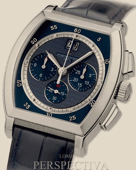 Швейцарские часы Vacheron Constantin Malte Automatic Chronograph limited edition of 20 pieces in white gold