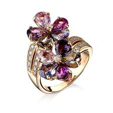 Bvlgari MULTICOLOR SAPPHIRE COCTAIL RING