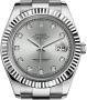 Rolex - 116334 Silver Diamonds