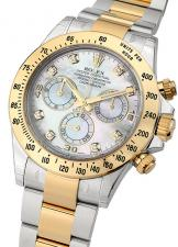 Rolex / Daytona / 116523 WhiteMOP Diamonds