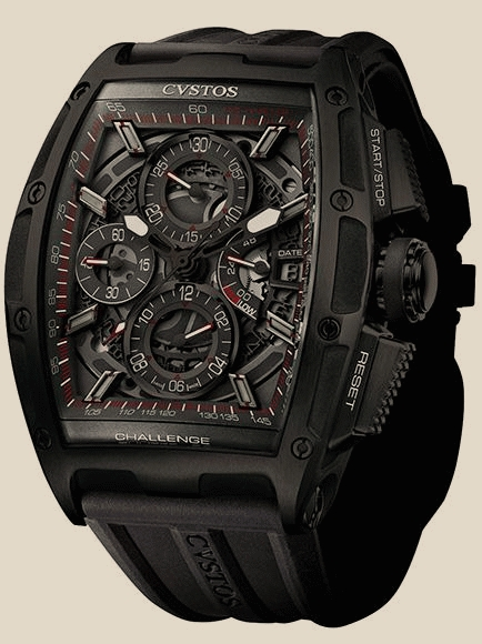 Cvstos - Chrono II Black Steel