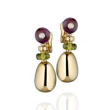 Bvlgari MEDITERRANEAN EDEN SASSI EARRINGS