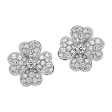 Van Cleef & Arpels. COSMOS EARRINGS, SMALL MODEL