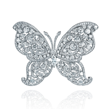 GRAFF BUTTERFLY HAIR CLIP 40.46 CT