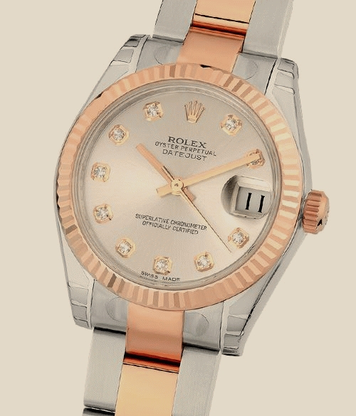Швейцарские часы Rolex Lady 31 mm, steel and Everose gold