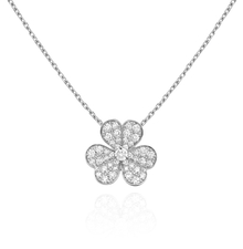 Van Cleef & Arpels. FRIVOLE PENDANT SMALL MODEL
