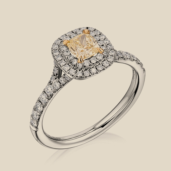 Tiffany & Co - 0.42 CT FIY/VVS2