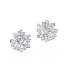 GRAFF THREANDS STUD EARRINGS