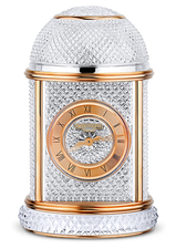 Patek Philippe Table Clock Pink Gold/crystal