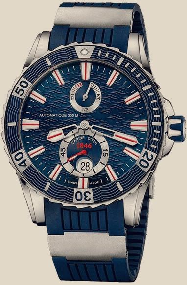 часы ulysse nardin marine diver 263 10 3/92 стоит торопиться один