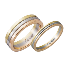 Cartier TRINITY WEDDING BAND RING