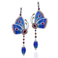 Jacob & Co PAPILLON COLLECTION EARRINGS