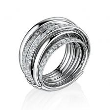 De Grisogono ALLEGRA WHITE GOLD & DIAMOND RING