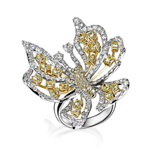 КОЛЬЦО NO NAME BUTTERFLY RING