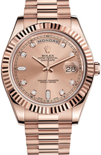 Rolex / Day-Date / 218235 Pink Diamonds