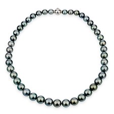 Mikimoto  BLACK PEARL NECKLACE