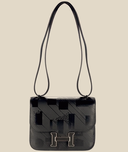 Hermes - Constance III Mini Noir Hand Bag-Purse