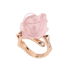 Dior SMALL ROZE DIOR PRE CATELAN RING
