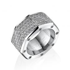 Audemars Piguet ROYAL OAK DIAMOND-PAVE RING