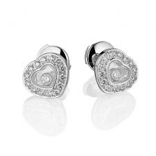Chopard HAPPY DIAMONDS HEART EARRINGS