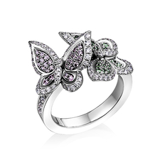 Chopard HAPPY BUTTERFLY RING