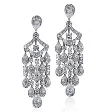 GRAFF CHANDELIER ICON DIAMOND EARRINGS