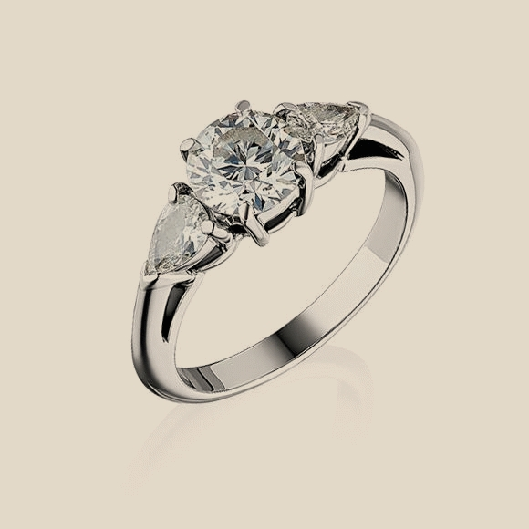 Tiffany & Co - 0.93 CT H/VS1